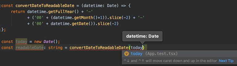 TypeScriptのメリット|関数に渡す、関数から返る値がすぐにわかる