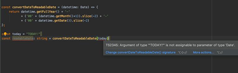 TypeScriptのメリット|エラーチェックをエディタに任せられる
